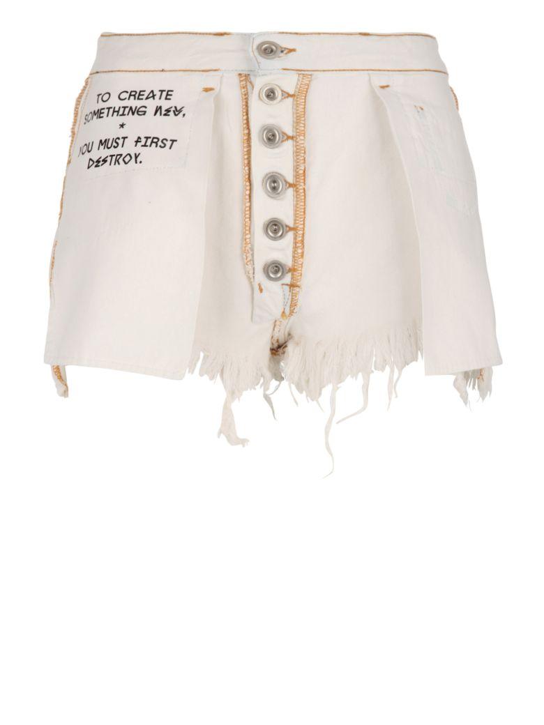 Ben Taverniti Unravel Project Shorts - White