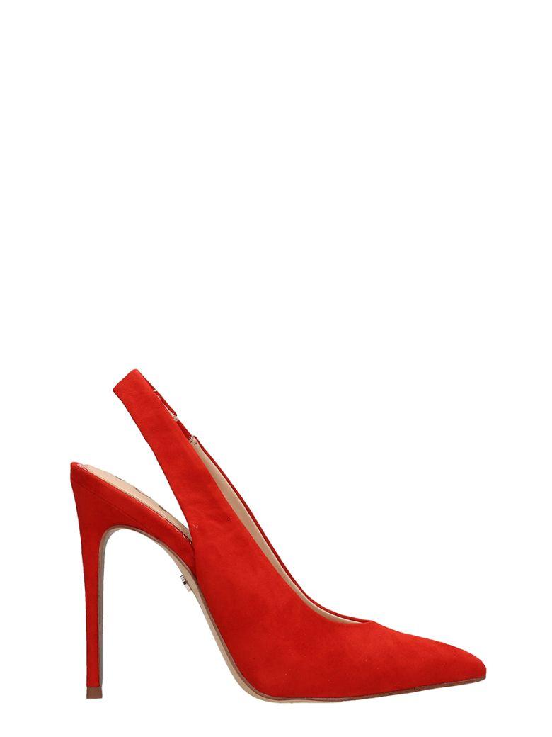 Sam Edelman Red Suede Dierdra Chanel - Red
