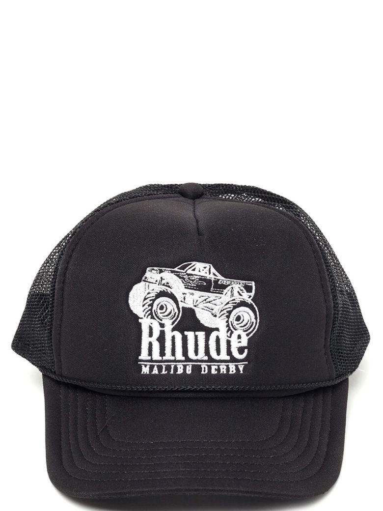 Rhude 'trucker Malibu' Cap - Black