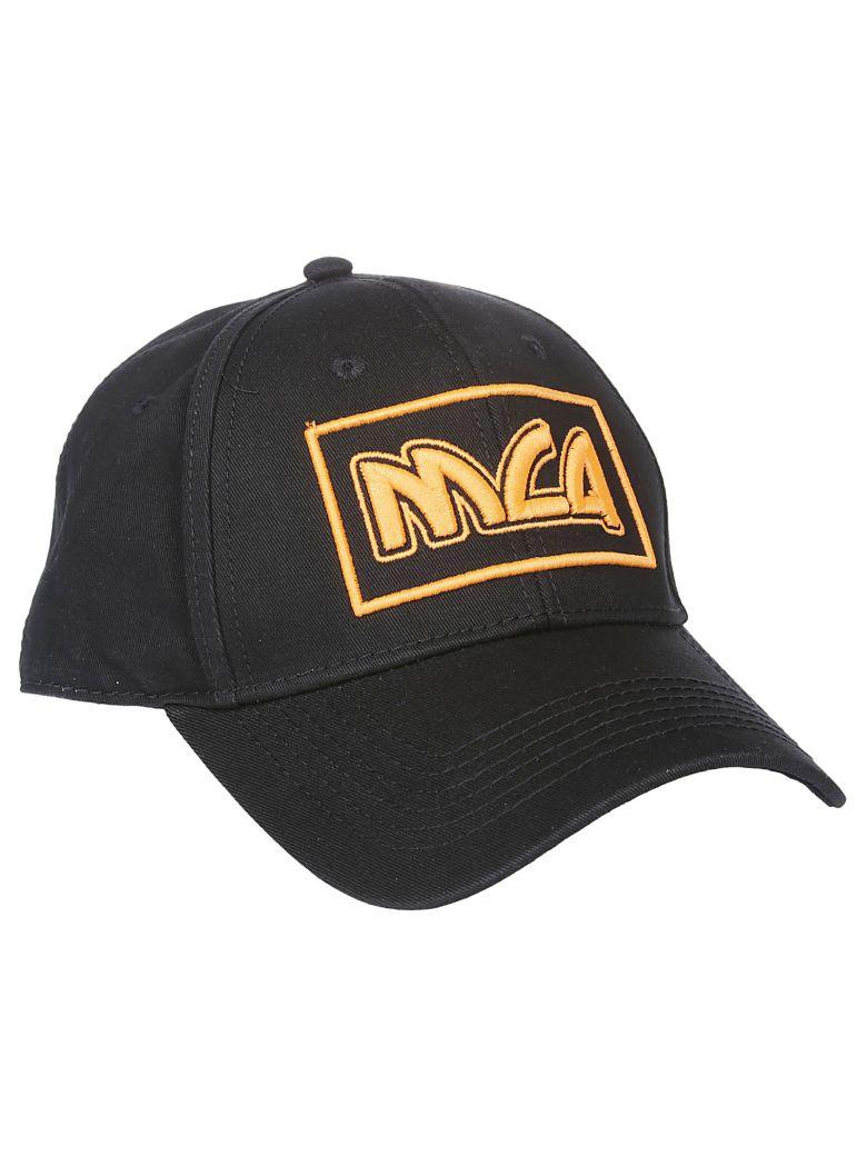 McQ Alexander McQueen Mcq Logo Embroidered Cap - Black