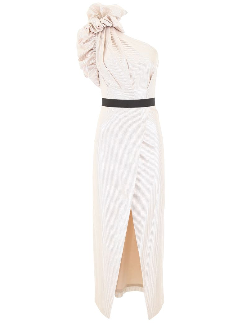 In The Mood For Love One-shoulder Dress - SILVER (Gold)