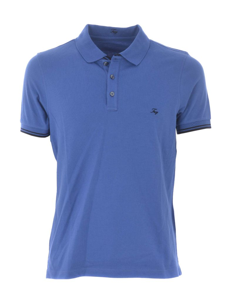 Fay Logo Polo Shirt - Avion