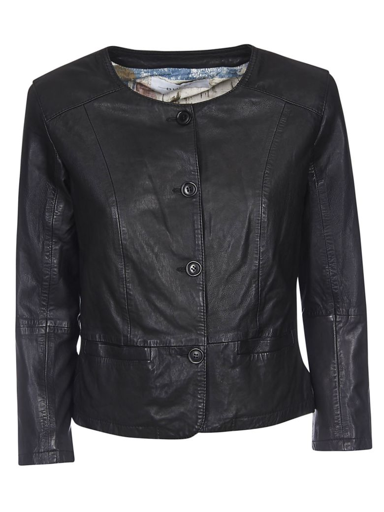 Bully Buttoned Jacket - Black