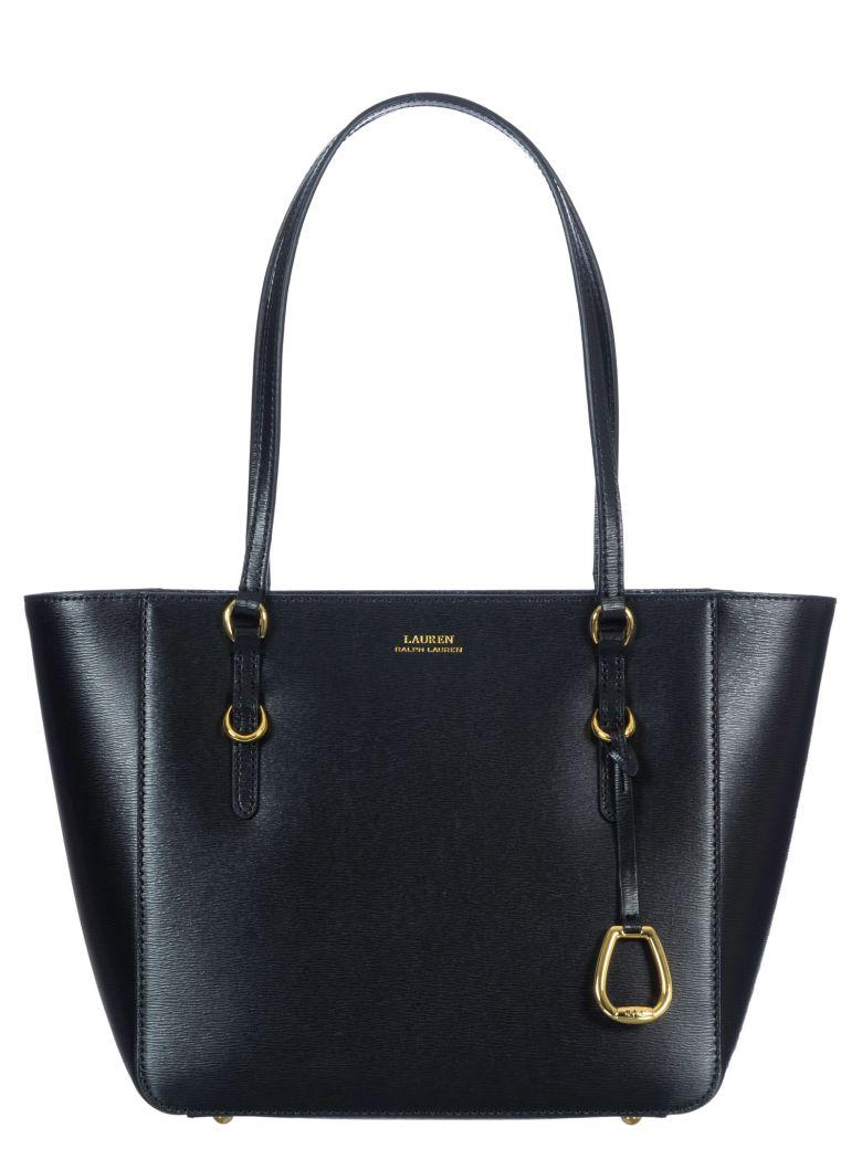 Ralph Lauren Leather Tote Bag - Black