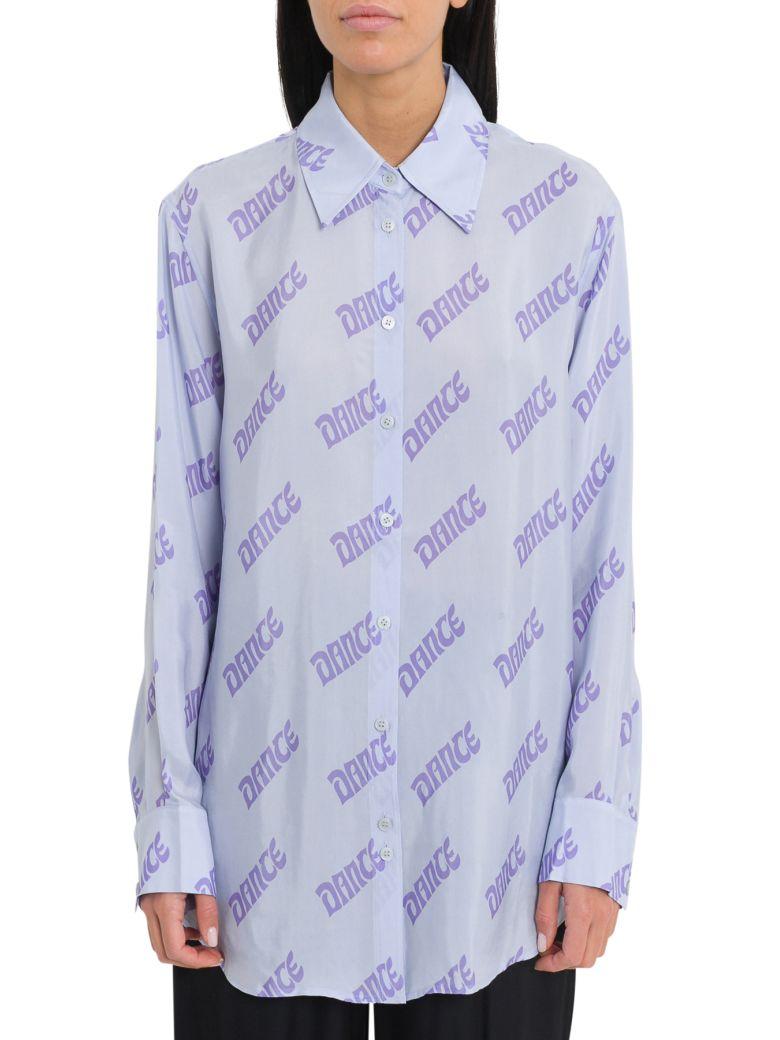 Acne Studios Dance Shirt - Azzurro