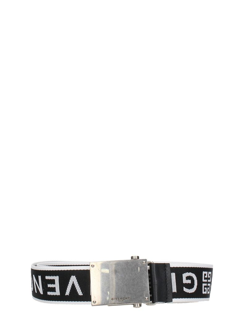 Givenchy Black Cotton Belt - black