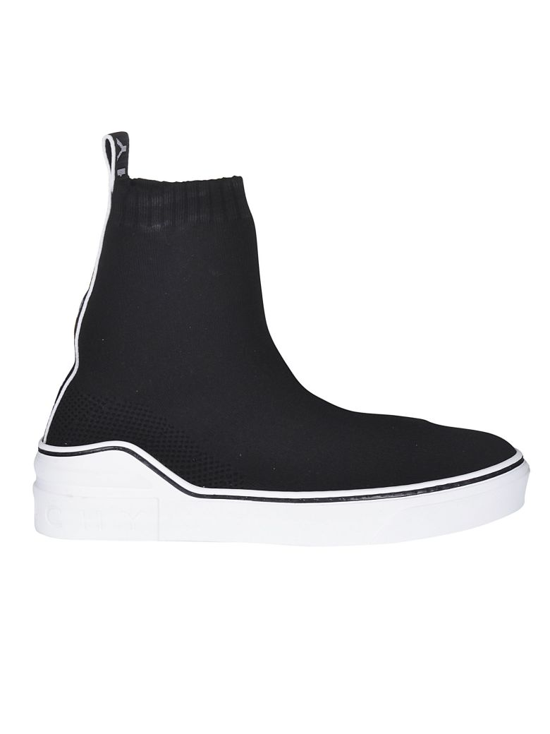Givenchy Slip-on Logo Sneaker Boots - Black