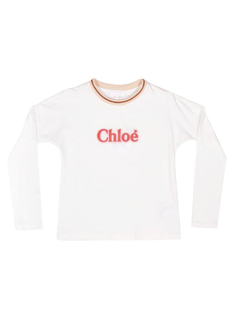 Chloé LOGO LONG SLEEVE T-SHIRT