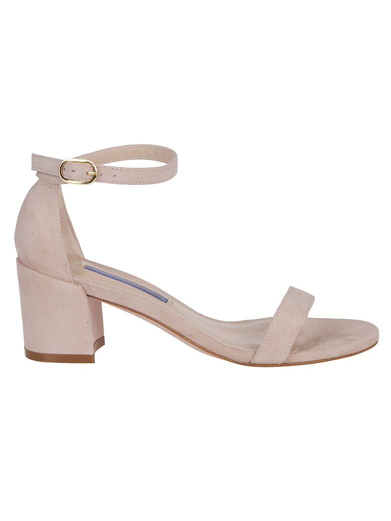 Stuart Weitzman Buckled Sandals - Pink