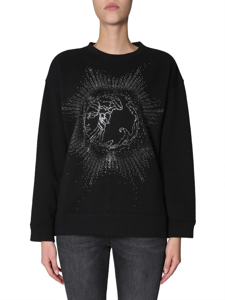 Versace Collection Neck Sweatshirt - NERO