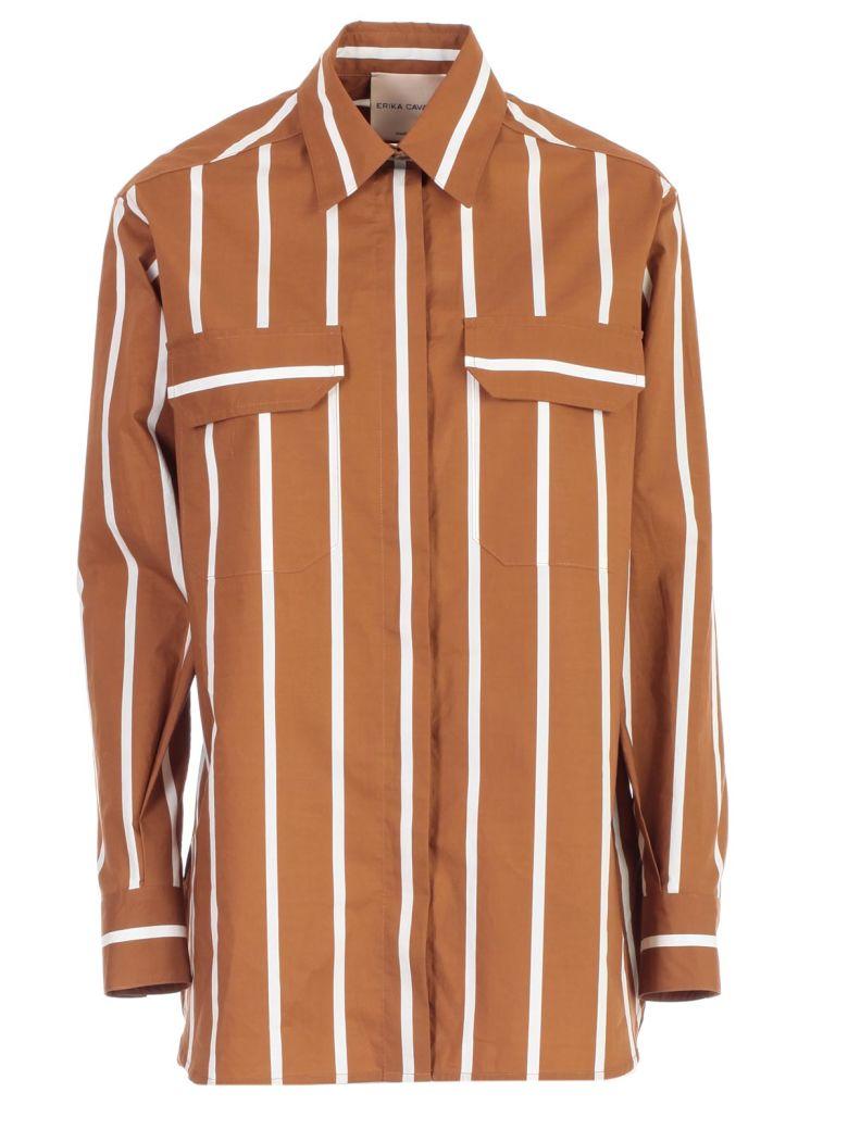 SEMICOUTURE Erika Cavallini Striped Shirt - Riga Tegola