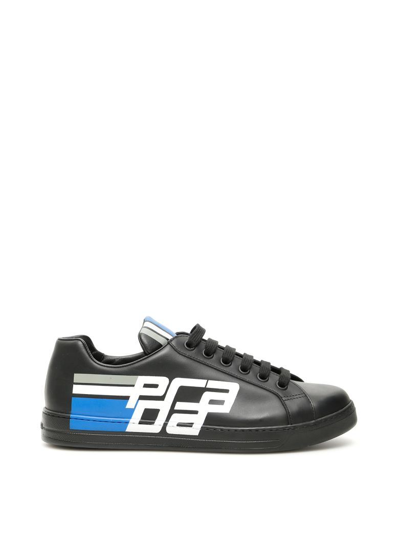 Prada Logo Sneakers - NERO (Black)