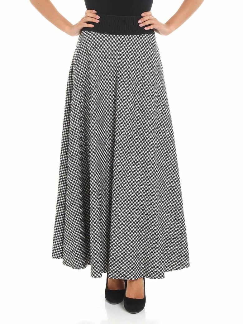 Altea Patterned Skirt - Black/White