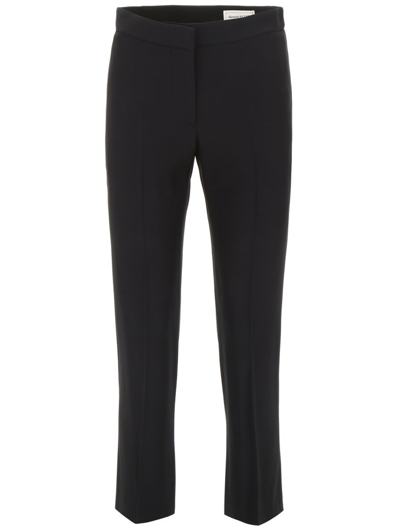 Alexander McQueen Cady Trousers - BLACK (Black)