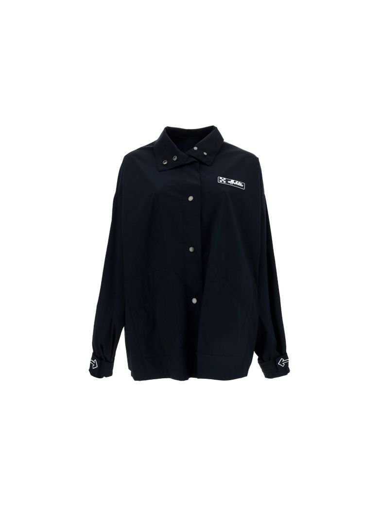 Off-White Track Coat - Black whit