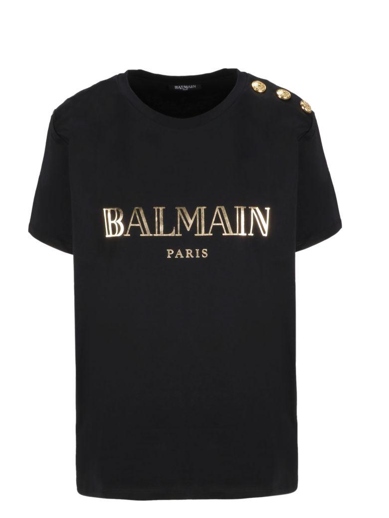 Balmain Logo Print Shirt - Basic