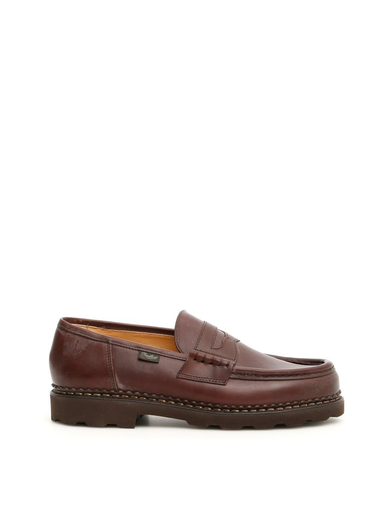 Paraboot Reims Moccasins - LIS CAFE (Brown)