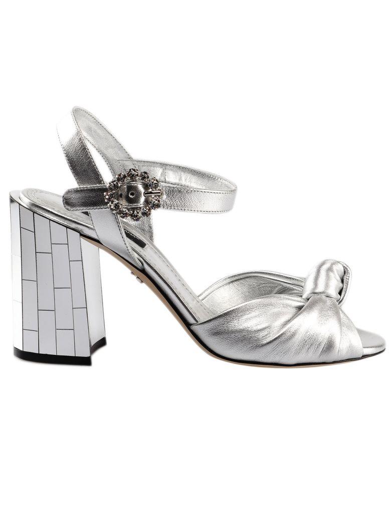 Dolce & Gabbana Keira Sandals - Argento