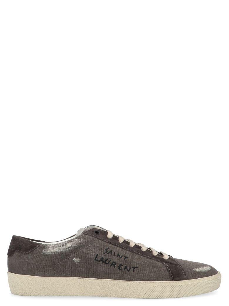 Saint Laurent 'court' Shoes - Grey