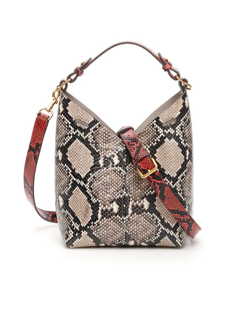 Anya Hindmarch Pyhton Print Mini Build A Bag - Basic