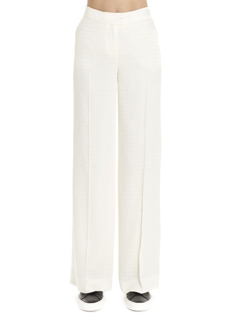 Karl Lagerfeld 'pied De Poule' Pants - White
