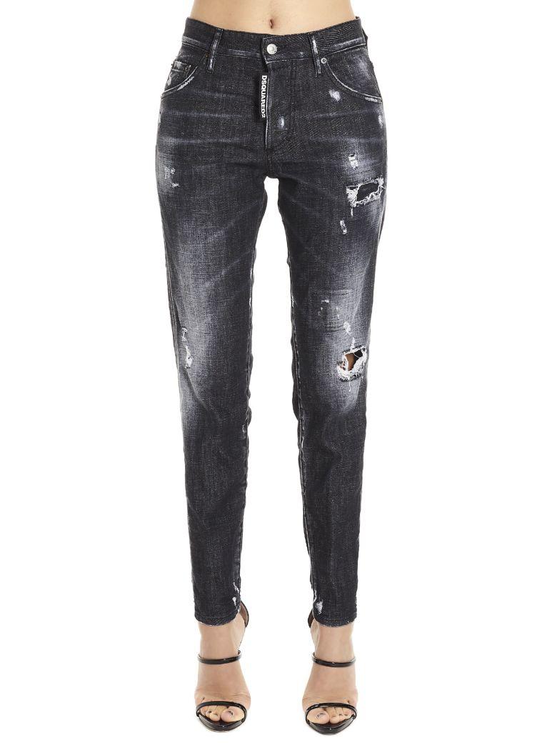 Dsquared2 'skinny Dan' Jeans - Black