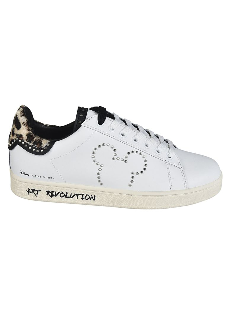 M.O.A. master of arts Master Of Arts Mickey Mouse Sneakers - White