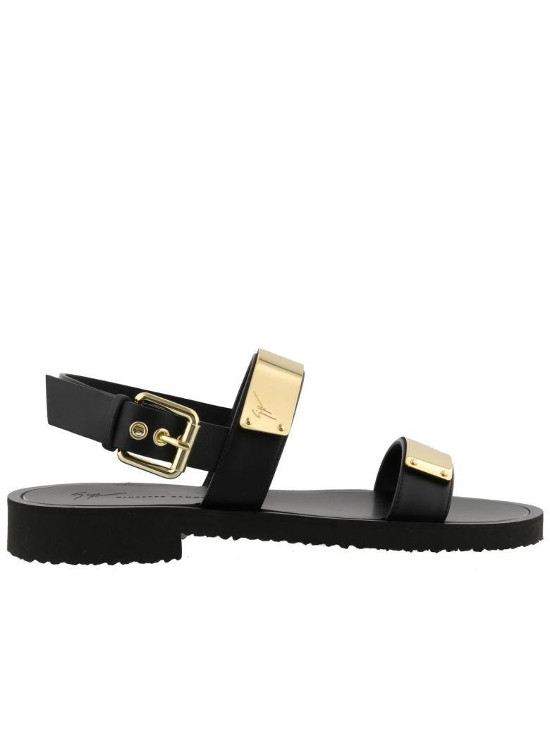 Giuseppe Zanotti Sandals - Black/ gold