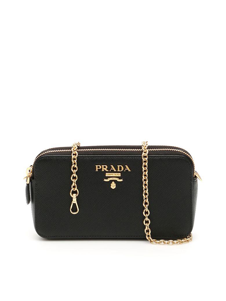 Prada Saffiano Mini Bag - NERO (Black)