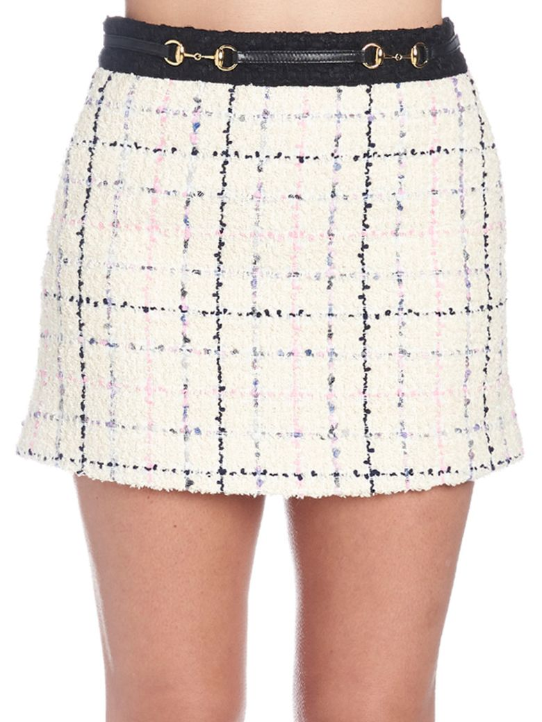 Gucci 'romantic Tweed' Skirt - Multicolor