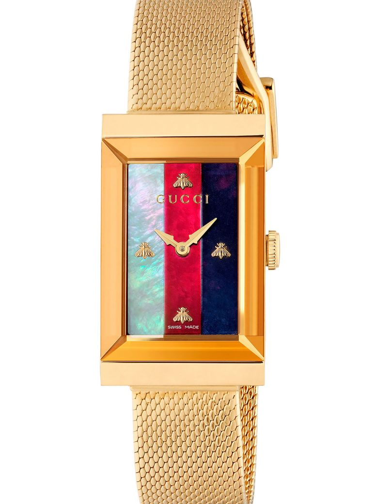 Gucci 'g-frame' Watch - Gold