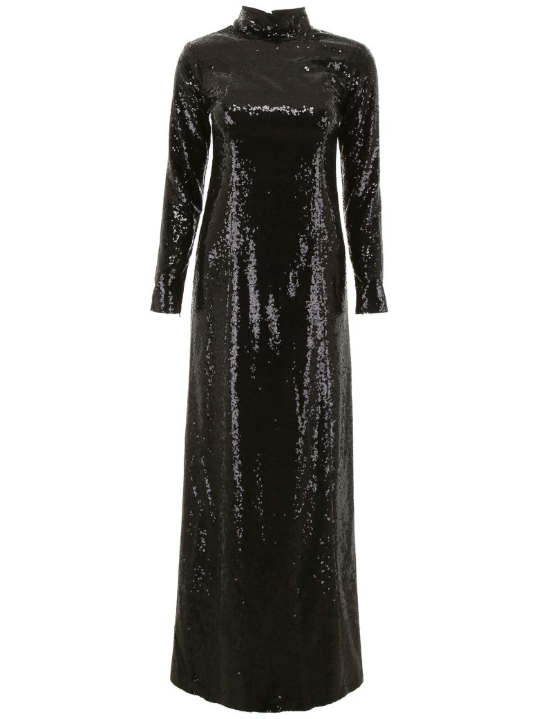 In The Mood For Love Sequins Rezzan Dress - BLACK (Black)