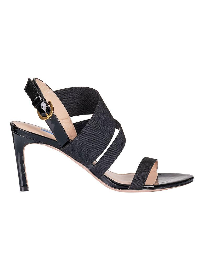 Stuart Weitzman Slingback Sandals - Black