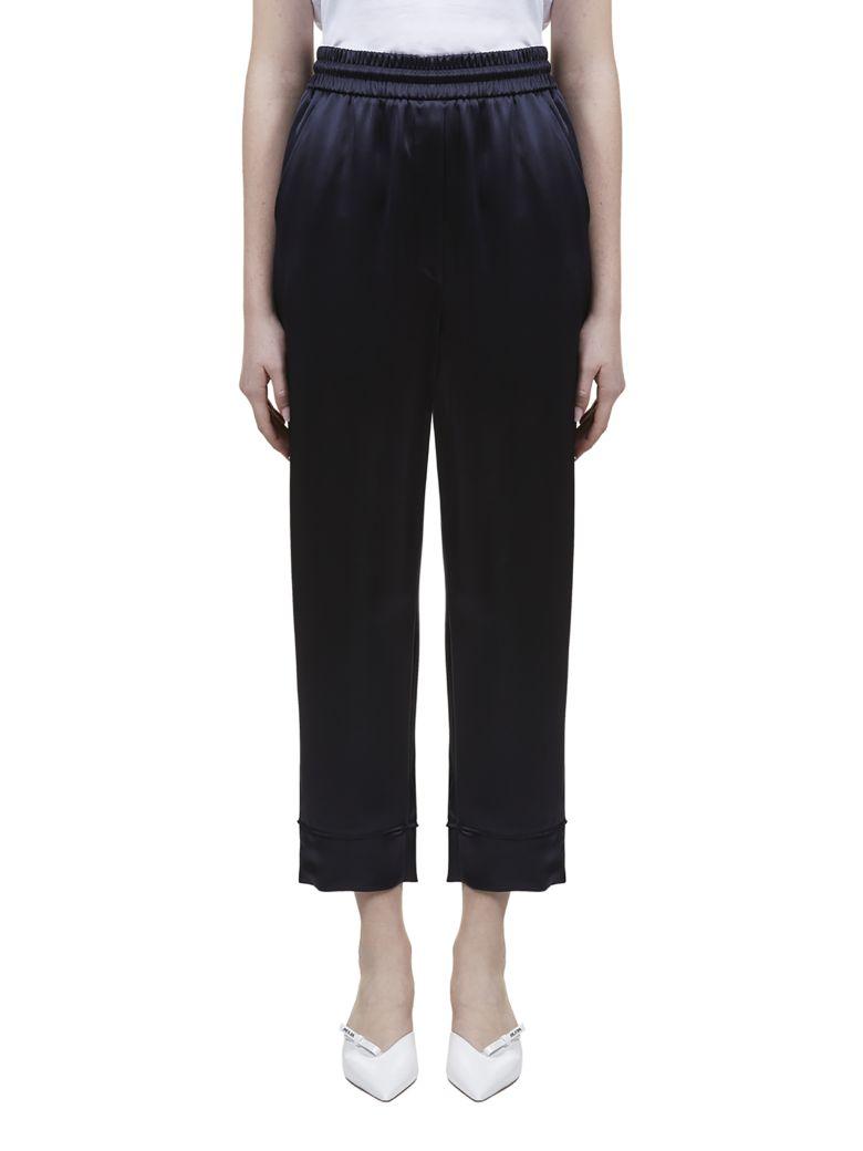 Nanushka Lety Trousers - Blu scuro