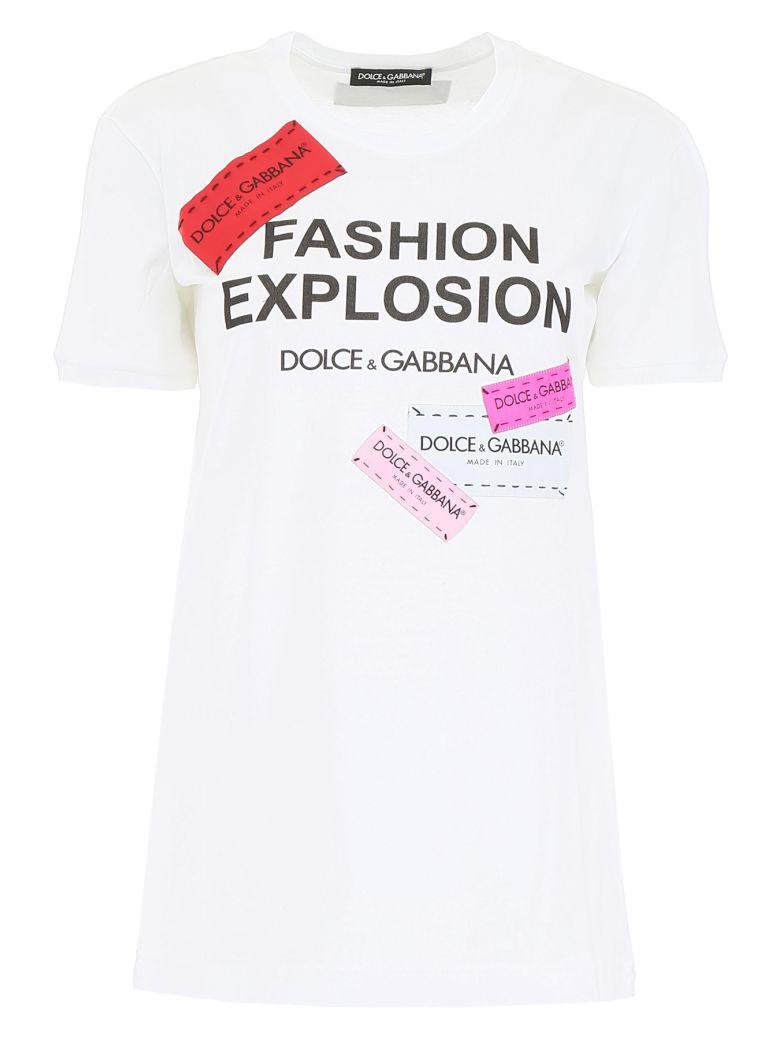 Dolce & Gabbana Fashion Explosion T-shirt - BIANCO OTTICO (White)