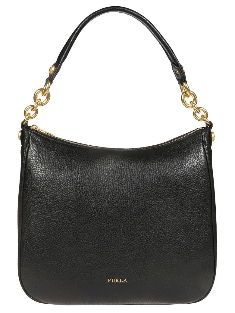 Furla Cometa Hobo Bag - Onyx