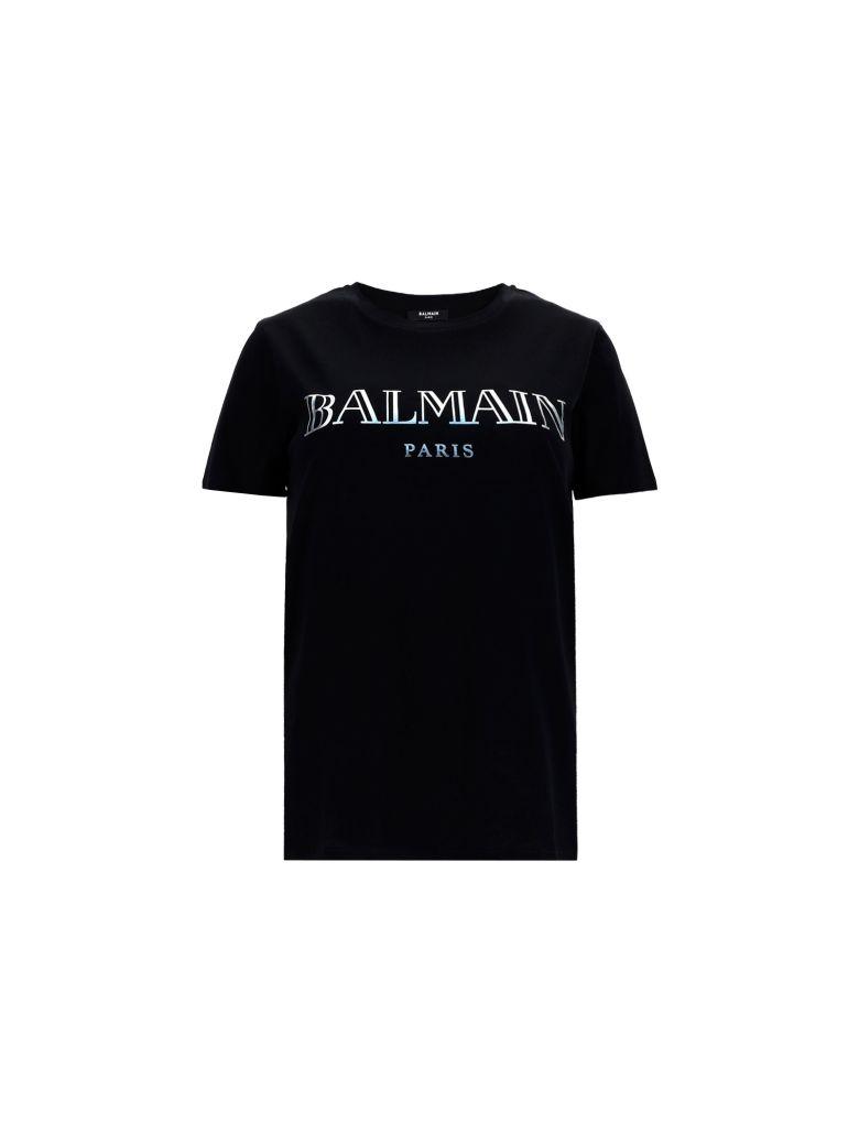Balmain T-shirt - Noir/argent