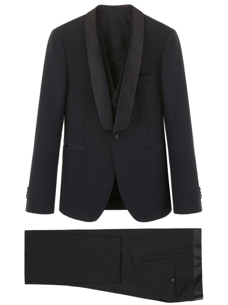 Tagliatore Three-piece Tuxedo - BLACK (Black)