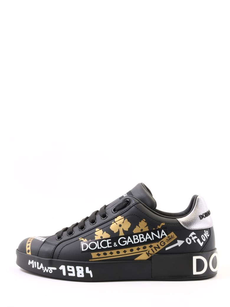 Dolce & Gabbana Sneakers Portofino - Black
