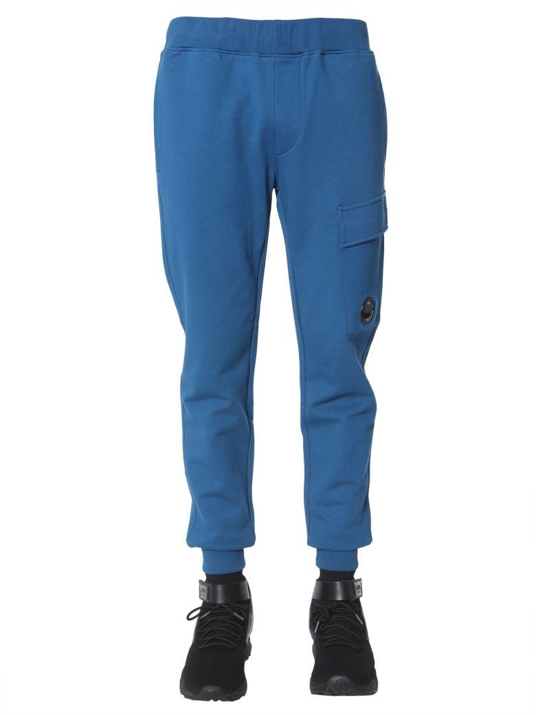 C.P. Company Cotton Sweatpants - BLU