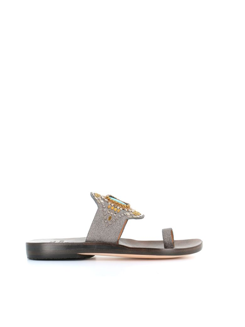 "Calleen Cordero Mules ""socal"" - Silver"