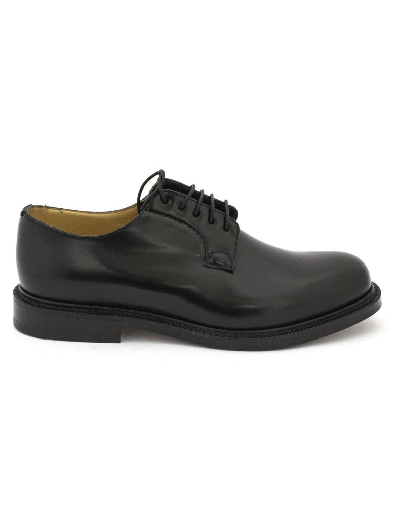 """Church's Black Smooth Leather """"shannon"""" Lace-up Shoes. - Nero"""