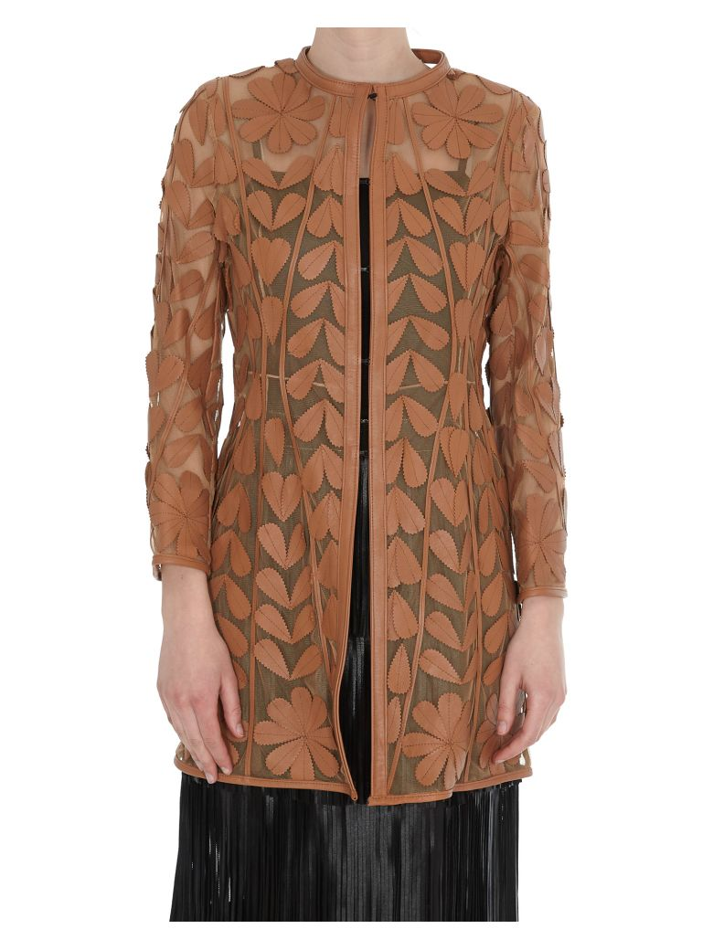 Caban Romantic Versailles Jacket - Cognac