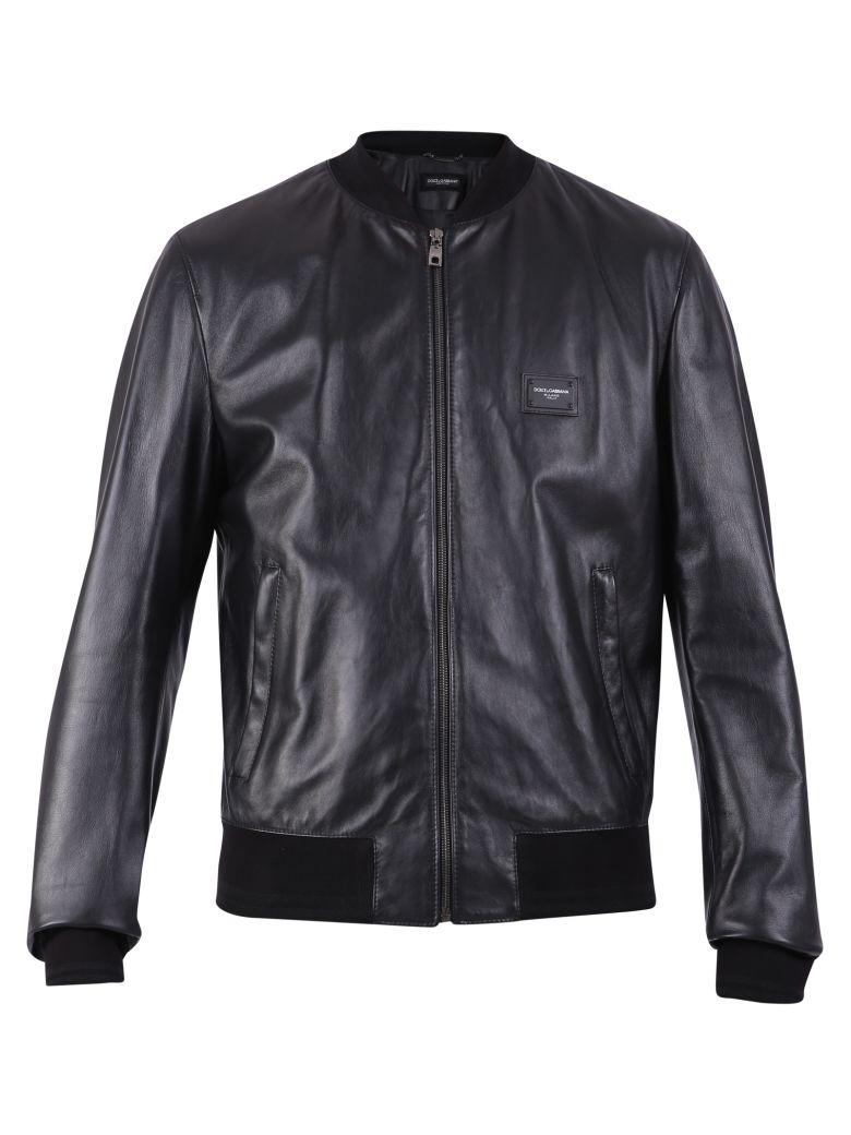 Dolce & Gabbana Branded Jacket - Black