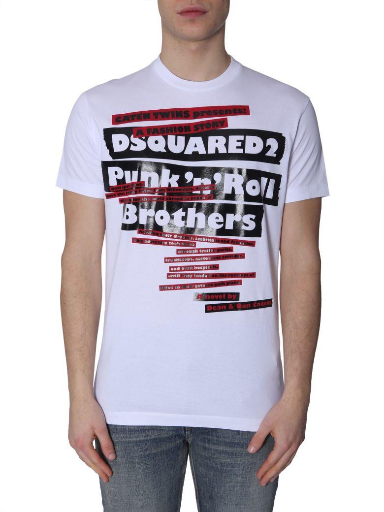 Dsquared2 Cool Fit T-shirt - BIANCO