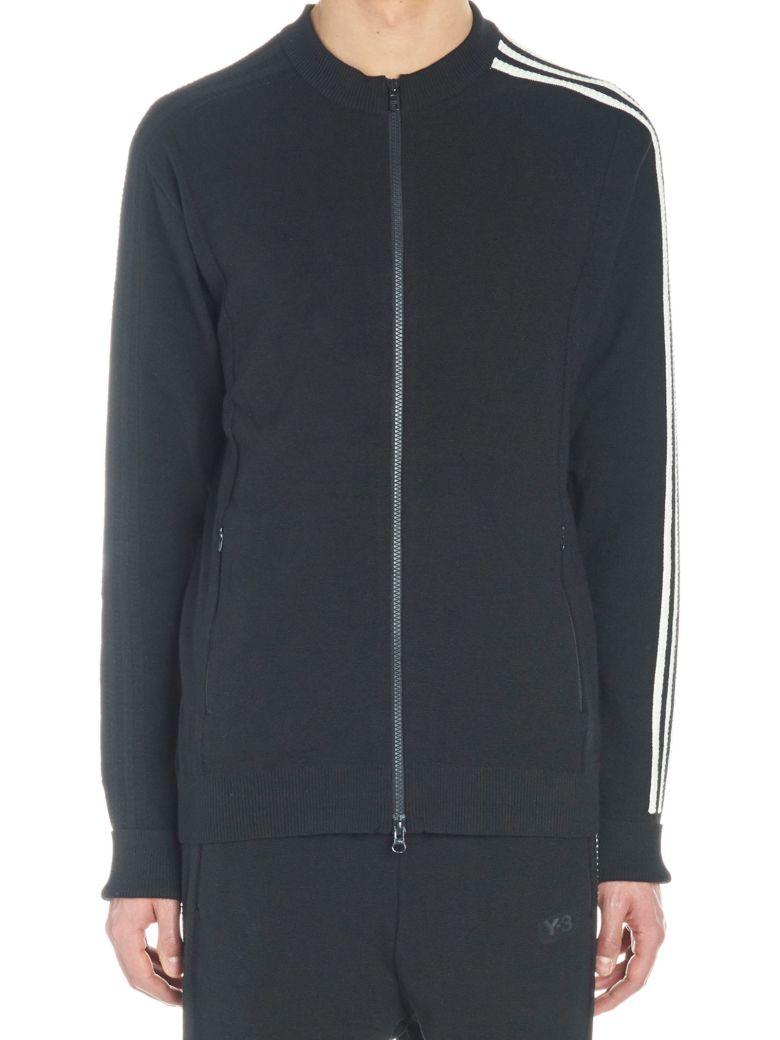 Y-3 'primeknit Jacket' Sweatshirt - Black