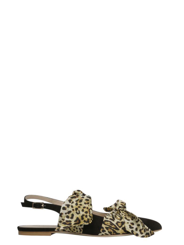 GIA COUTURE Eva Ballerina Flat Sandals - Basic