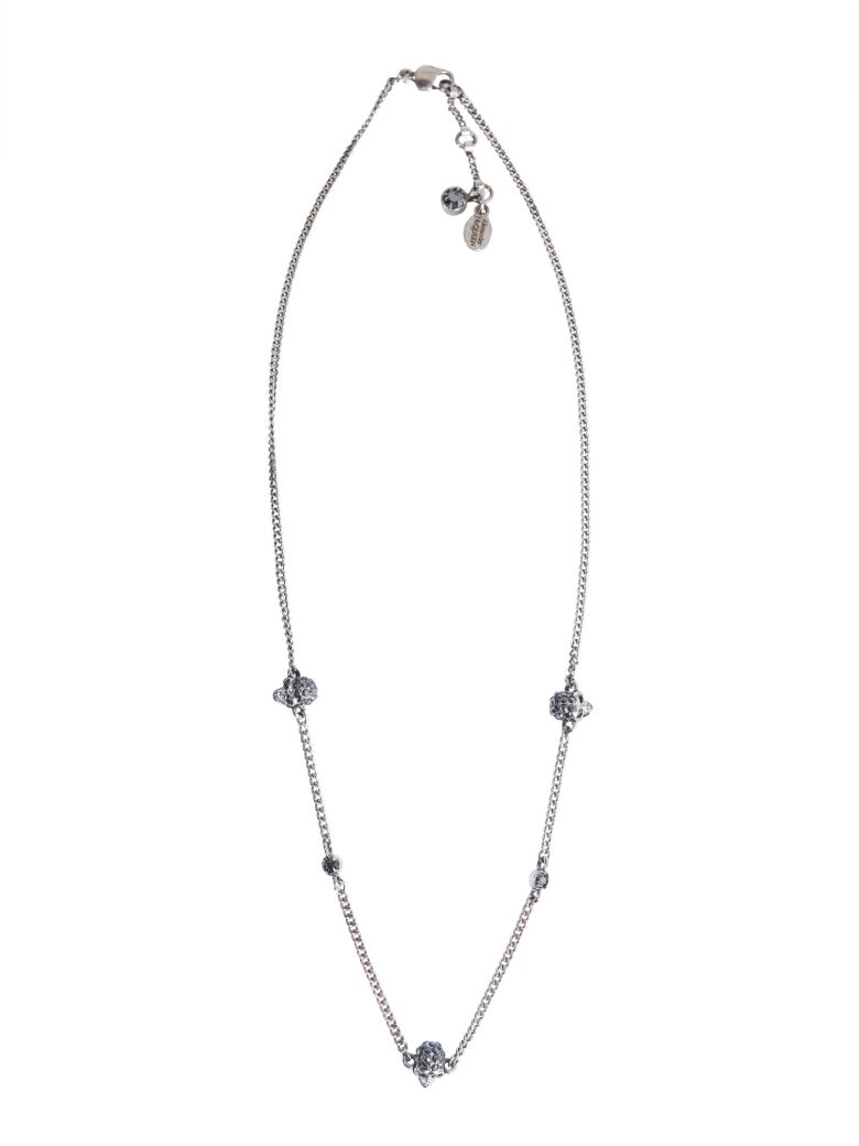 Alexander McQueen Skull Necklace - Silver