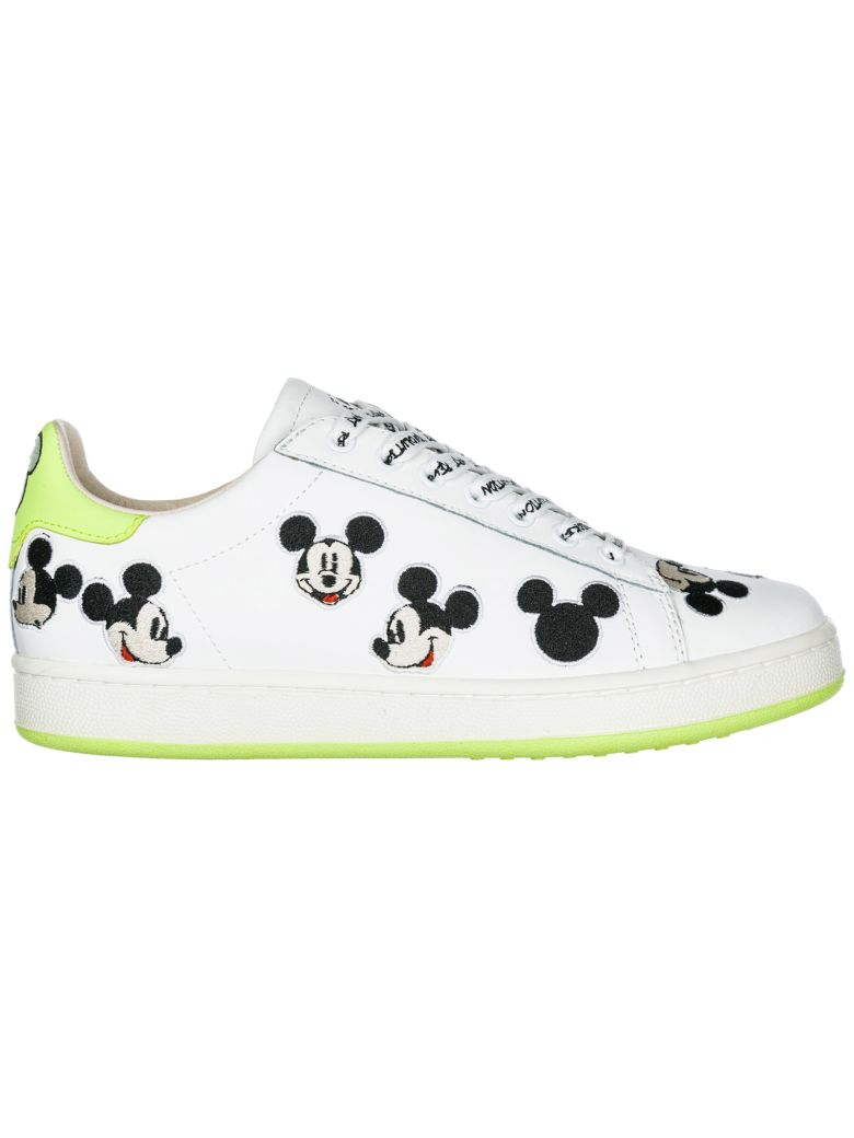 M.O.A. master of arts  Shoes Leather Trainers Sneakers Disney Mickey Mouse - Basic