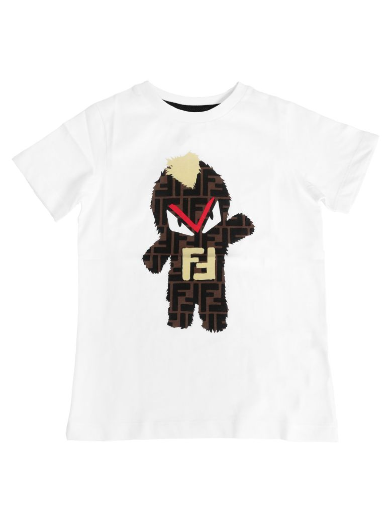 Fendi Kids Double F T-shirt